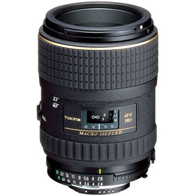 Tokina 100mm f2.8 AT-X Macro Lens - Canon Fit