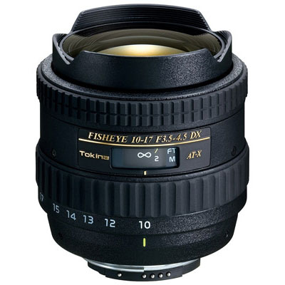 Tokina 10-17mm f3.5-4.5 AT-X DX Lens - Nikon Fit
