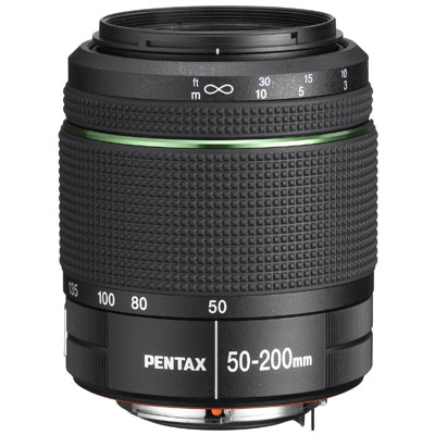 Pentax 50-200mm F4-5.6 ED WR weather resistant lens