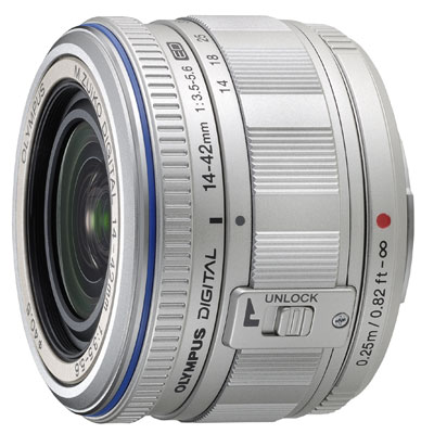 Olympus 14-42mm F3.5-5.6 M.ZUIKO Digital ED Micro Four Thirds lens