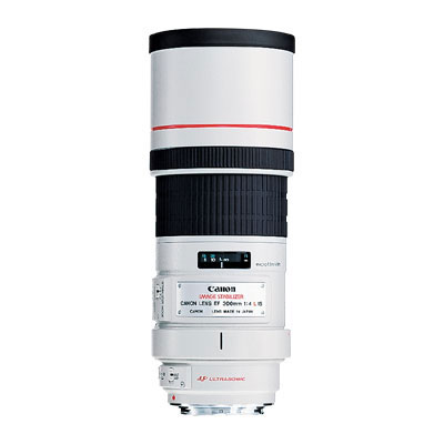 Canon 300mm f4 L IS Lens