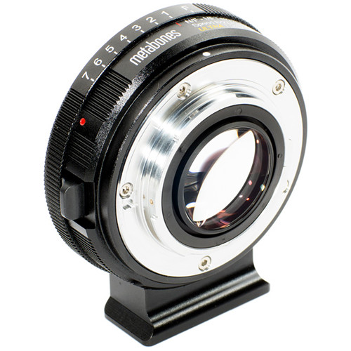 Metabones Speed Booster Ultra 0.71x Adapter for Nikon G Lens to Micro Four Thirds-Mount Camera