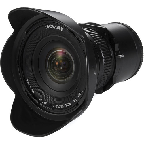 Venus Optics Laowa 15mm f/4 Macro Lens for Sony E