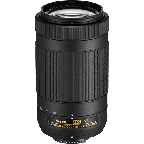 Nikon 70-300mm f4.5-6.3 G ED DX AF-P VR Nikkor Lens (from a camera kit)