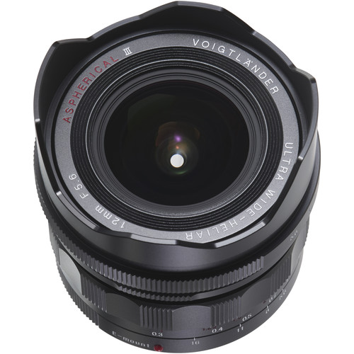 Voigtlander Ultra Wide-Heliar 12mm f/5.6 Aspherical III Lens for Sony E