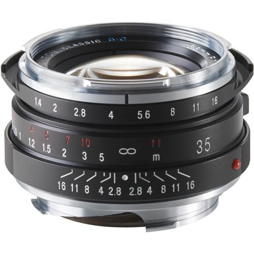 Voigtlander Nokton 35mm f/1.4 Lens SC (Single Coated)
