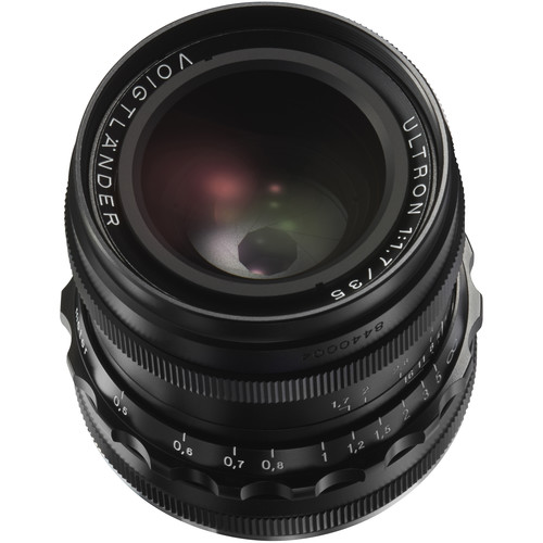 Voigtlander VM 35mm f/1.7 Ultron Aspherical Lens (Black)
