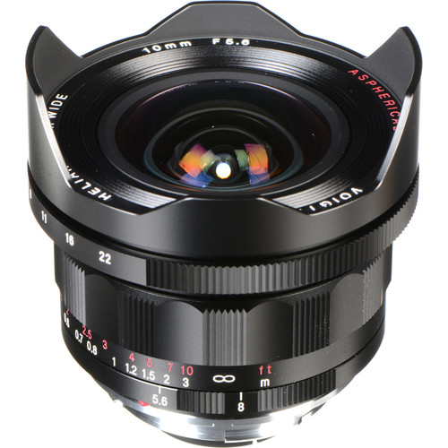 Voigtlander Heliar-Hyper Wide 10mm f/5.6 Aspherical Lens