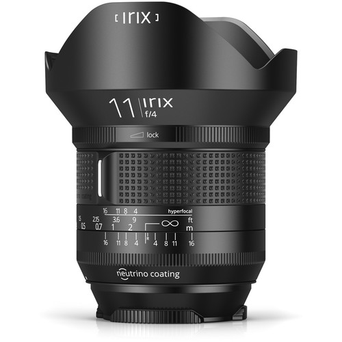 IRIX 11mm f/4 Firefly Lens for Nikon F