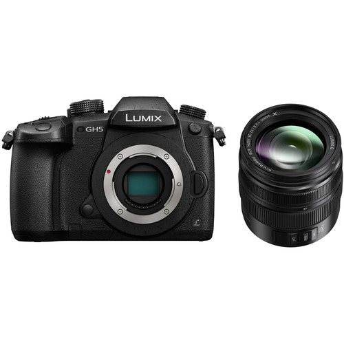 Panasonic Lumix DC-GH5 Mirrorless Micro Four Thirds Digital Camera with 12-35mm II Lens Kit