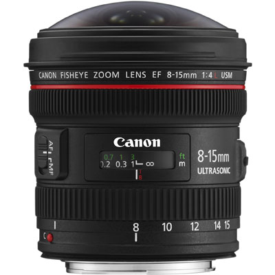 Canon 8-15mm f4.0 L Fisheye Lens