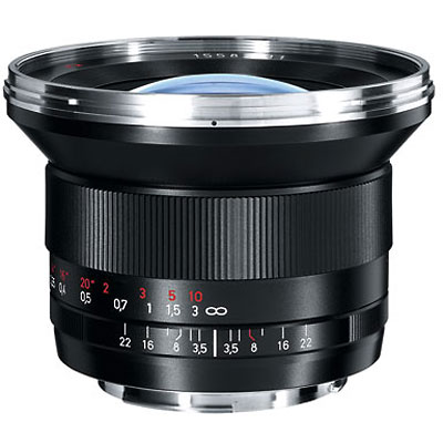 Zeiss 18mm f3.5 T* Distagon ZE Lens - Canon Fit