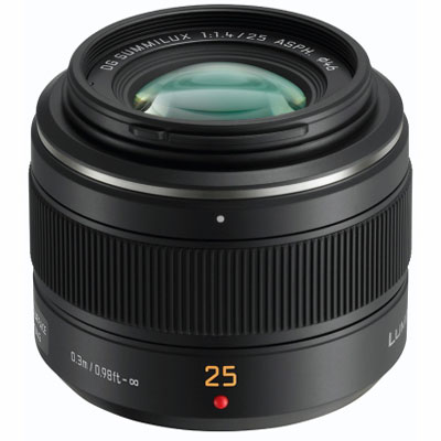Panasonic DG Summilux 25mm f1.4 Leica Micro Four Thirds lens