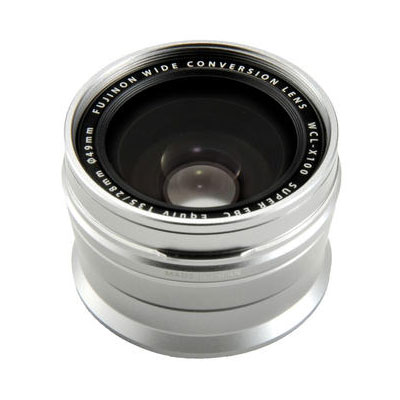 Fuji WCL-X100 Silver Wide-Angle Conversion Lens for X100/X100s