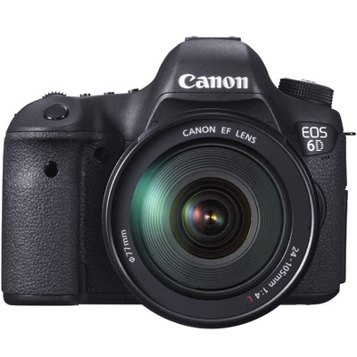 Canon EOS 6D Digital SLR Camera with 24-105mm Lens