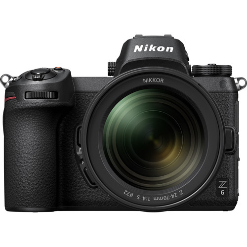 Nikon Z 6 Mirrorless Digital Camera with 24-70mm Lens, FTZ Mount Adapter Kit