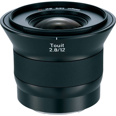 Zeiss 12mm f2.8 E Touit Lens - Sony E-Mount Fit