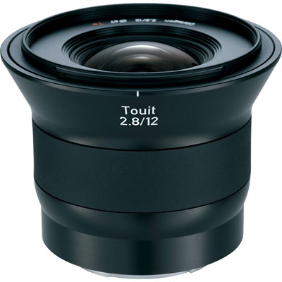 Zeiss 12mm f2.8 E Touit Lens - Fuji X-Mount Fit