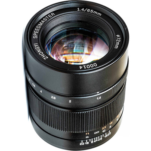 Mitakon Zhongyi Speedmaster 65mm f/1.4 Lens for Fujifilm G