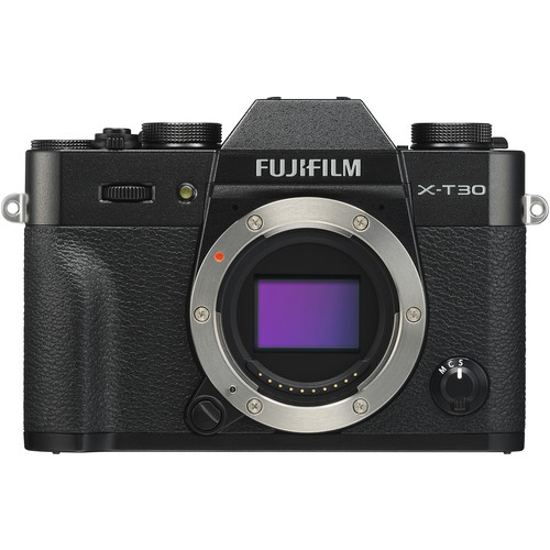 FUJIFILM X-T30 Mirrorless Digital Camera (Body Only, Black)