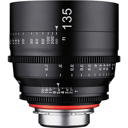 Samyang Xeen 135mm T2.2 Lens with PL Mount