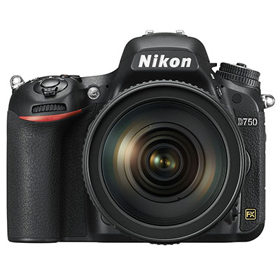 Nikon D750 Digital SLR with 24-120mm VR Lens Kit