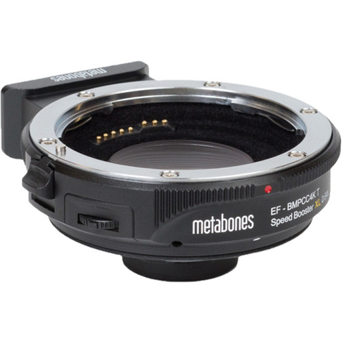 Metabones T Speed Booster XL 0.64x Adapter for Canon EF Lens to BMPCC 4K Camera