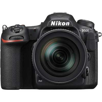 Nikon D500 Digital SLR Camera with 16-80mm f2.8-4 VR Lens