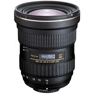 Tokina 14-20mm f2 AT-X PRO DX Lens - Canon Fit