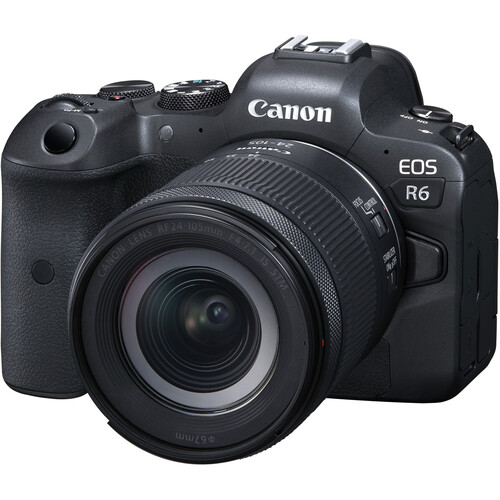 Canon EOSR6 Mirrorless Digital Camera with 24-105mm f/4-7.1 Lens