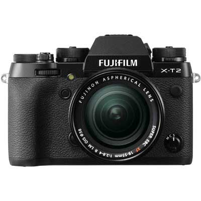 Fuji X-T2 Digital Camera with 18-55mm XF Lens