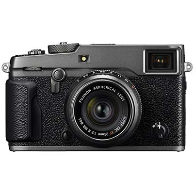 Fuji X-Pro2 Digital Camera Body with XF 23mm F2 Lens - Graphite Silver