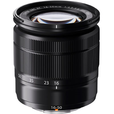 Fuji 16-50mm f3.5-5.6 XC OIS Lens - Black (from a camera kit)