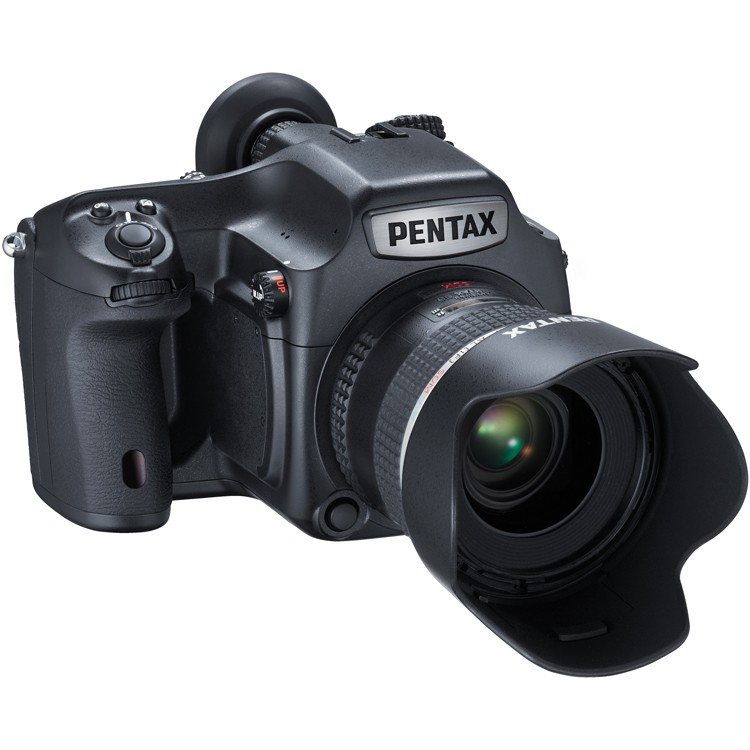 Pentax 645Z Camera With 55mm D FA SDM AW Lens