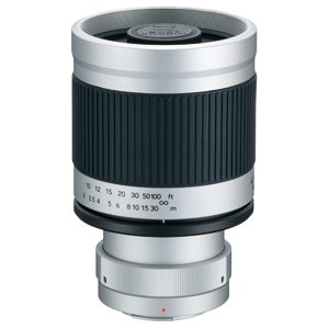 Kenko 400mm Mirror Lens with T-mount adapter For M4/3 (White)