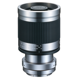 Kenko 400mm Mirror Lens with T-mount adapter For Sony NEX (Titanium)