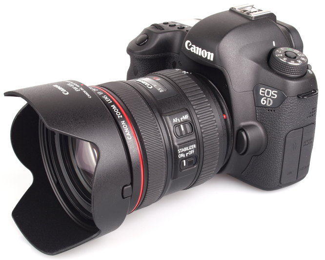 Canon EOS 6D with EF 24-70mm f/4 L IS USM Kit