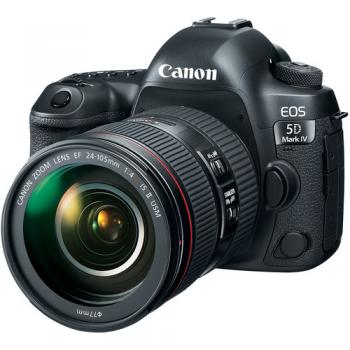 Canon 5D Mk4 Camera with 24-105mm f/4L II Lens