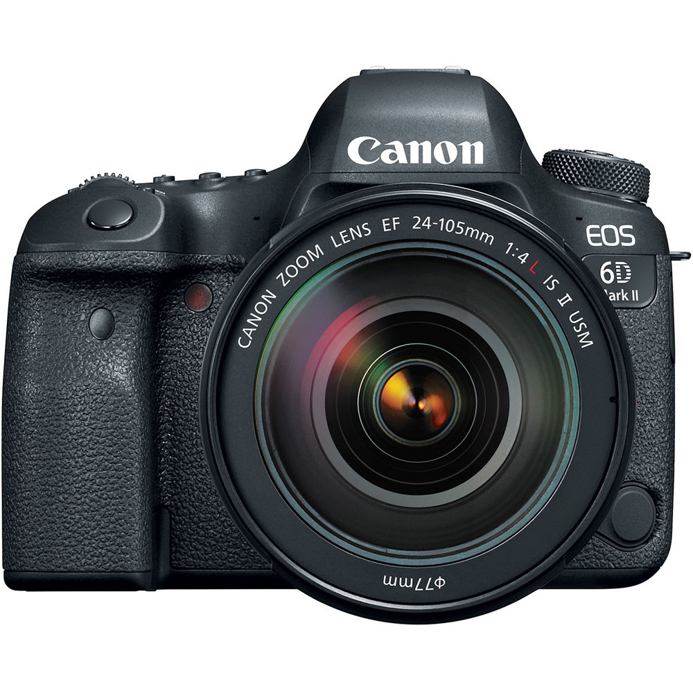 Canon 6DmarkII with 24-105mm f/4 II Lens Lens