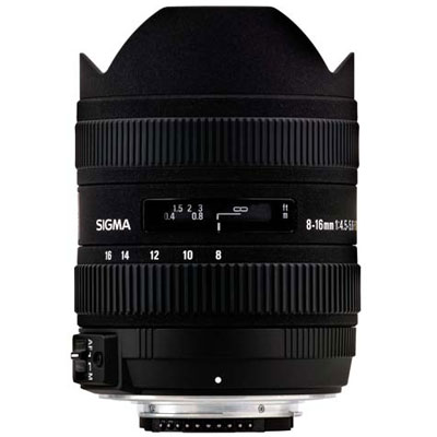 Sigma 8-16mm f4.5-5.6 DC HSM Lens - Sony Fit