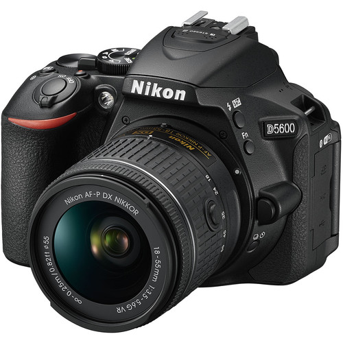 Nikon D5600 DSLR Camera with 18-55mm and 70-300mm Lenses Kit
