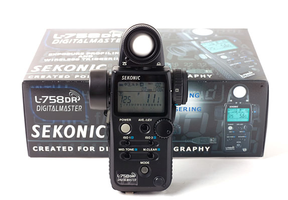Sekonic Digitalmaster L-758DR (Built in Radio Transmitter)