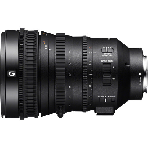 Sony E Series 18-110mm F4 G OSS Lens