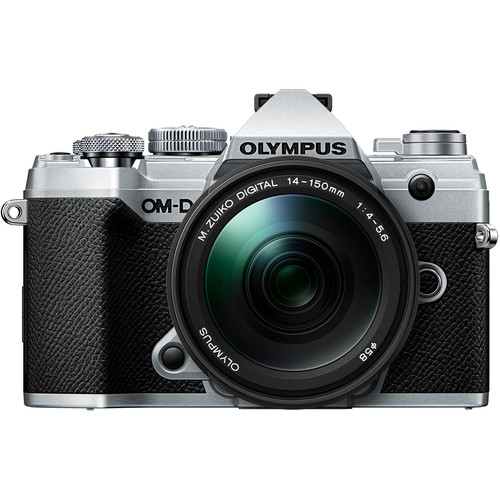 Olympus OM-D E-M5 III Mirrorless Digital Camera with 14-150mm Lens (Silver)