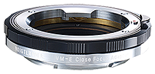 Voigtlander VM-E Close Focus Adapter for VM-Mount Lens to Sony E-Mount Camera