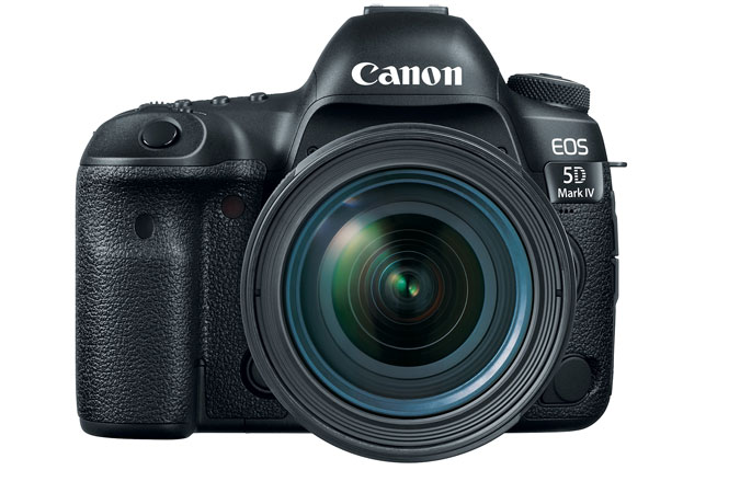 Canon 5D Mk4 DSLR Camera with 24-70mm f/4L IS Lens Kit