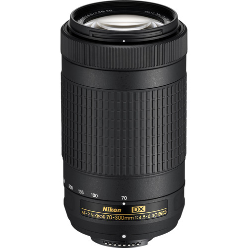 Nikon 70-300mm f4.5-6.3 G ED DX AF-P Nikkor Lens (from a camera kit)