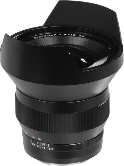 Zeiss 15mm F/2.8 Distagon ZE Canon EF Fit